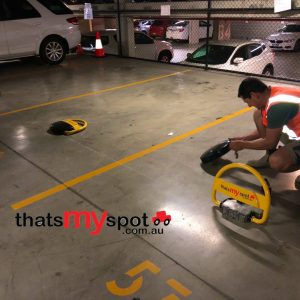remote-control-parking-bollard-tms-apl2-being-installed-with-safety-first