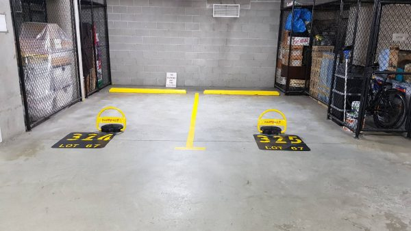 Remote control parking lock install TMS-APL2