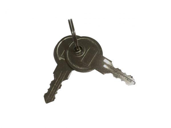 TMS-AMK extra manual keys for manual fold-down parking bollards