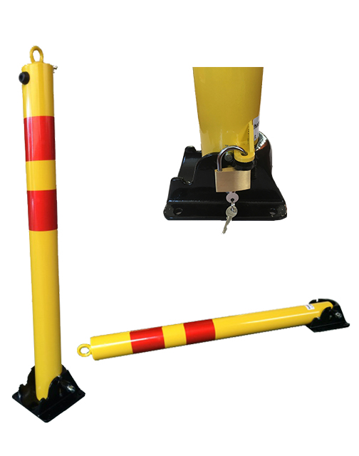 Manual Fold-down Parking bollard TMS-B04