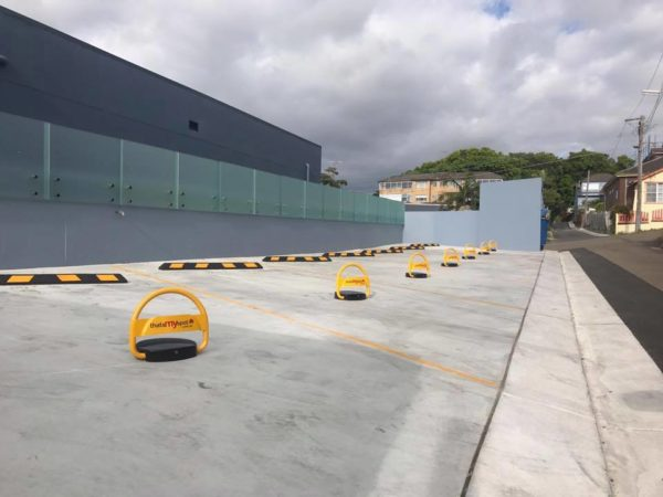 TMS-APL2 remote control parking bollard install Coogee