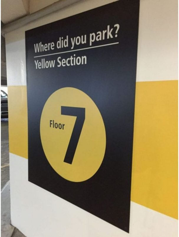 Where did you park?