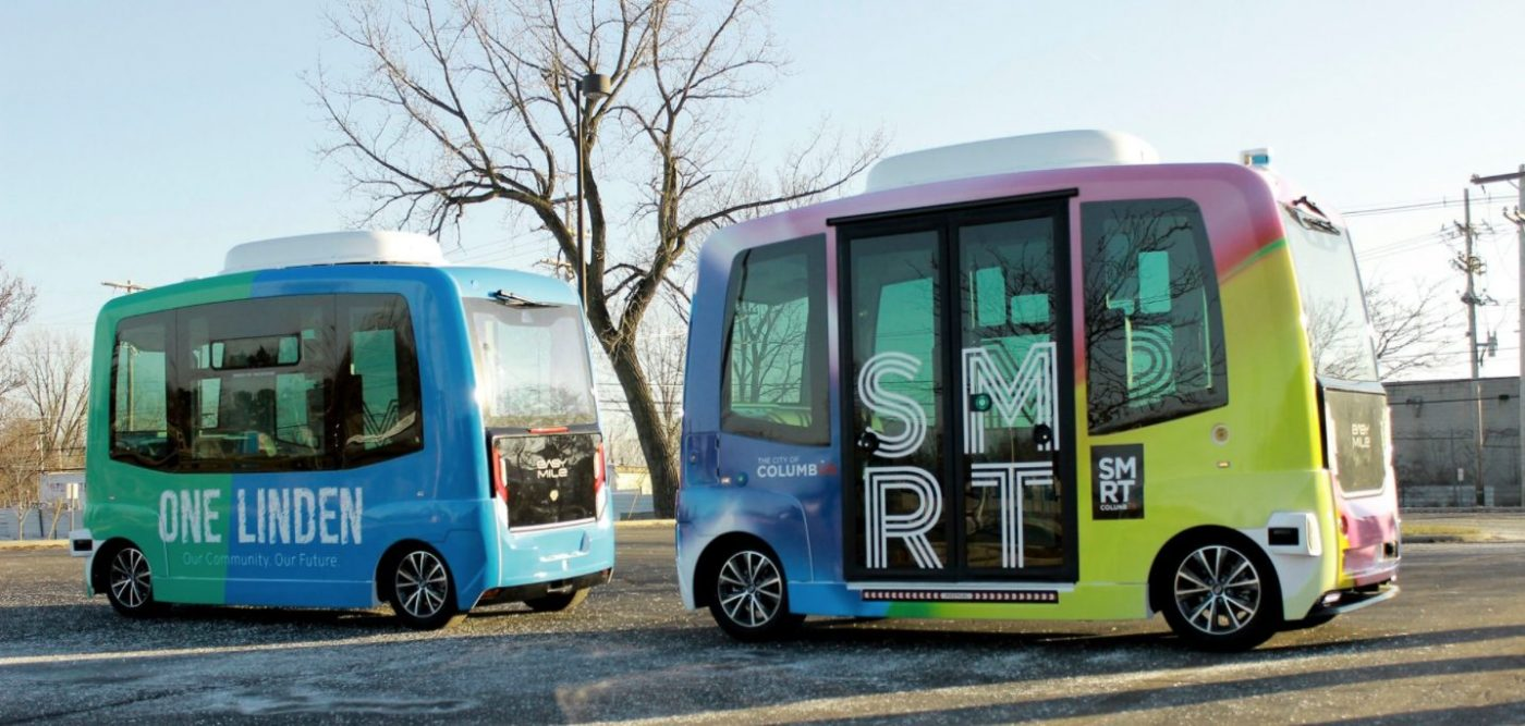 Smart Linden autonomous food truck